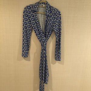 """Diane von Furstenberg """"New Jeanne Two"""" wrap dress"""